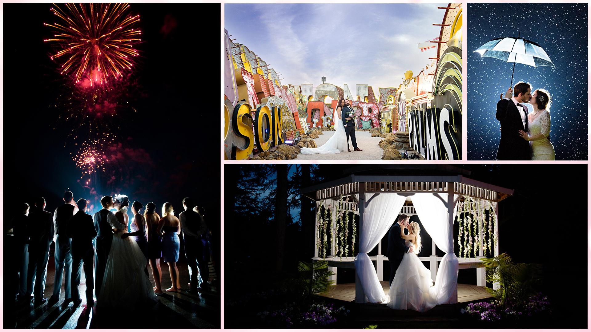 Wedding Pricing Collage